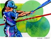 スポーツ - ベースボール・野球選手