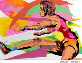 スポーツ - ハードル・陸上競技・陸上選手