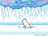 SFファンタジー - 白鯨・氷山・北極・南極