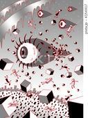 2DCG・ポップ系 - 眼球・目玉・視線・目・眼