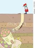 地底・穴掘り・モグラ・地下都市