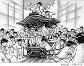 だんじり・だんじり祭り・岸和田・やりまわし