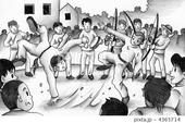 カポエイラ・格闘技・格闘競技・ブラジル