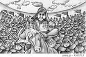 チンギスハン・ジンギスカン・蒙古・騎馬・兵士