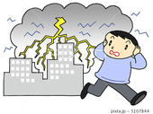 落雷・雷・爆弾低気圧・スーパーセル・積乱雲