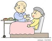 老老介護・老老看護・高齢者介護・食事介助・老人福祉