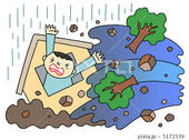 土砂災害・土砂流・土石流・鉄砲水・河川の氾濫