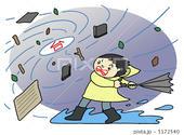 台風・暴風雨・温帯低気圧・熱帯低気圧・風水害
