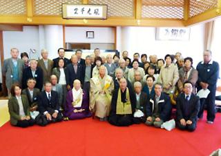 檀信徒研修旅行 於京都清水寺