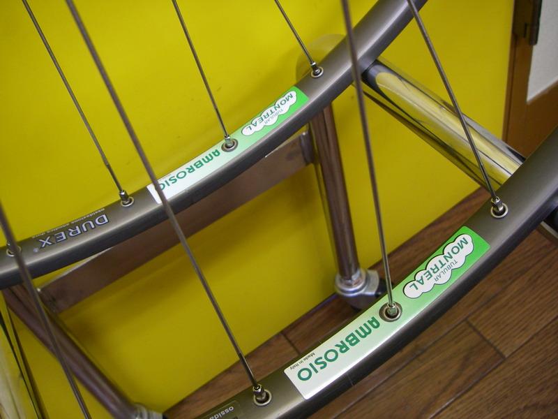 ホイール組んだり、自転車納車 ...