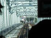 犬山橋上を走行中