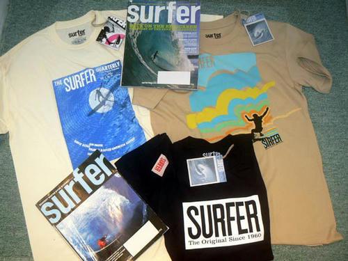 SURFER誌 Tシャツ