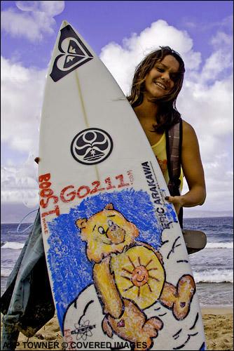 Megan & Board