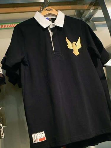 MERRY5ROUND. ラガーシャツ