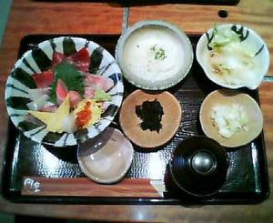 画像:海鮮丼御膳