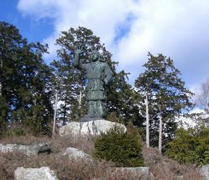 画像:日本武尊像