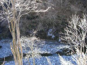 画像:三十槌の氷柱