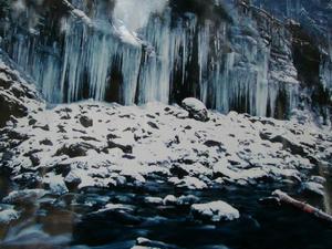 画像:前年の氷柱写真
