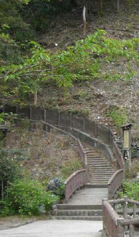 画像:やまぶきの里 階段