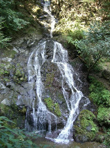 画像:白岩の滝 雨乞の滝