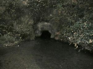 画像: 飯盛山 戸ノ口堰洞穴