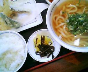 画像:ウエスト 天ぷら定食