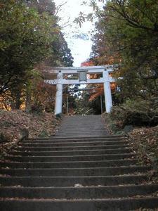 画像: 宝登山神社 奥宮 とりい