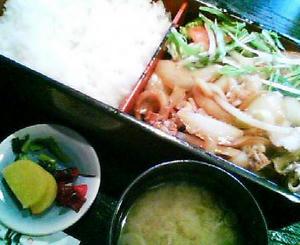 画像:成駒 焼肉弁当