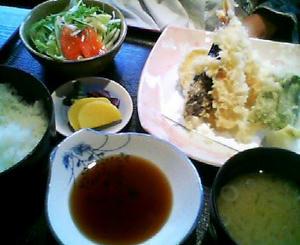 画像:成駒 天ぷら定食