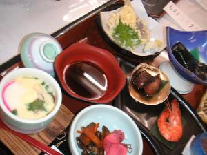 画像:佐渡グランドホテル 夕食
