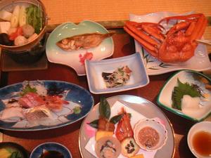 画像:鹿伏温泉 相川やまきホテル 夕食