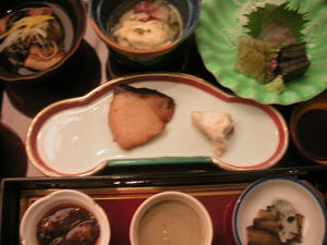 画像:名鉄トヤマホテル 夕食