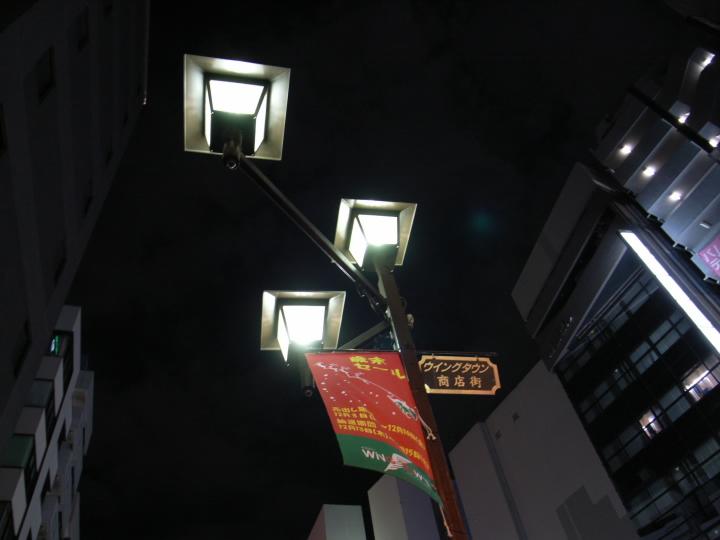 夜の池袋、西口劇場通り#2_071123 RICOH:GR Digital