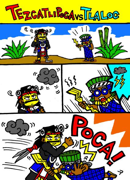 TEZCATLIPOCA VS TLALOC1