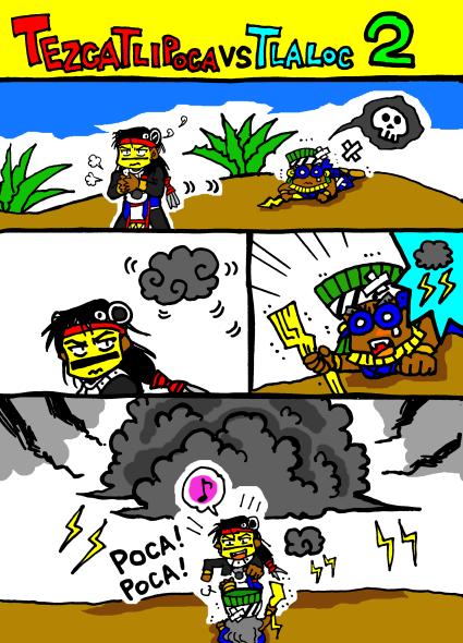 TEZCATLIPOCA VS TLALOC2
