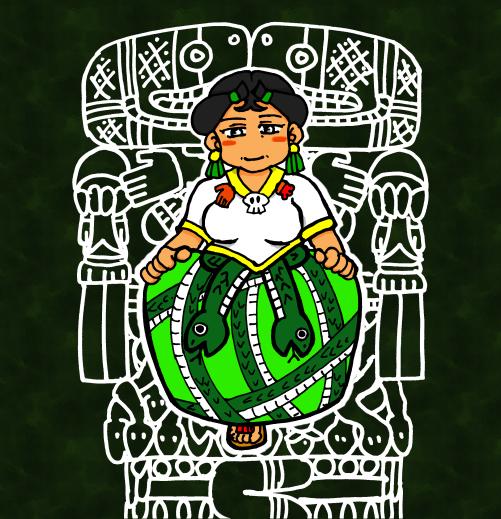 大地母神コアトリクエ