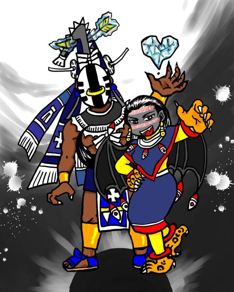 イツラコリウキ夫妻
