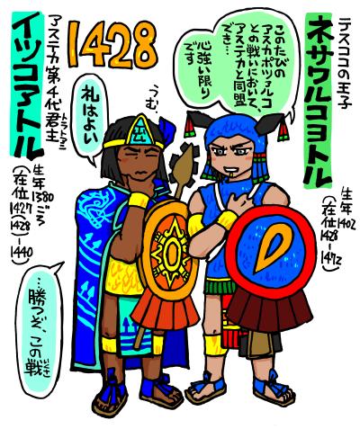 アステカ帝国1428