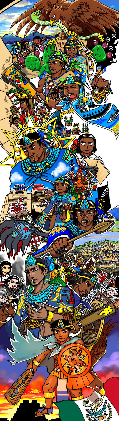 アステカ漫画 アステカの君主