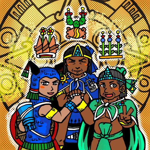 アステカ三国同盟