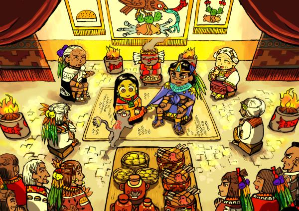 陛下の結婚式