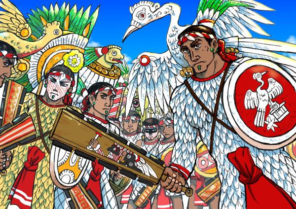 トラスカラ戦士たち
