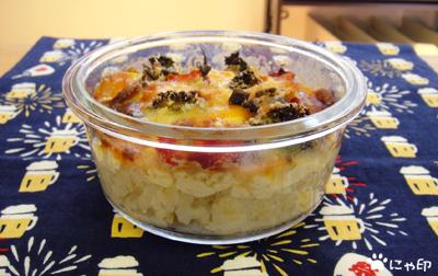 今日のMy弁当「豆腐ドリアのまるまる冷凍弁当」