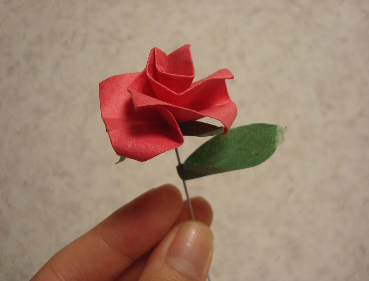 すべての折り紙 折り紙 花 立体 : 画像 : 簡単!折り紙で作る花 ...