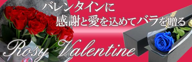 バレンタインにバラの贈り物