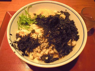 楽釜製麺所 あま海苔うどん