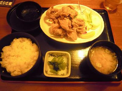 旬鮮酒場天狗 鶏の唐揚げセット