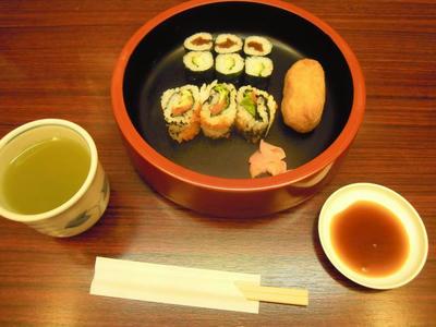 ワンコインセット 箱寿司