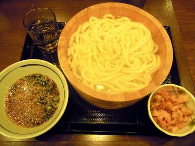 バラ天釜揚げうどん 丸亀製麺