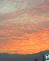朝焼け2005